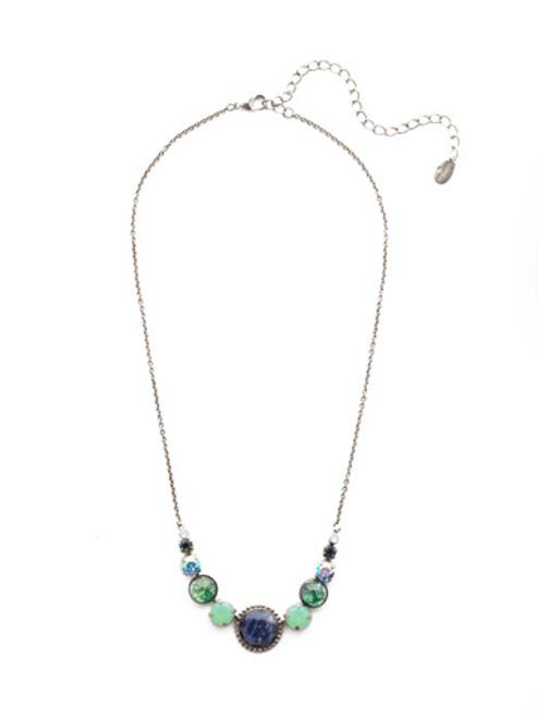 Sorrelli NIGHT FROST- Berenice Tennis Necklace~ NEU43ASNFT