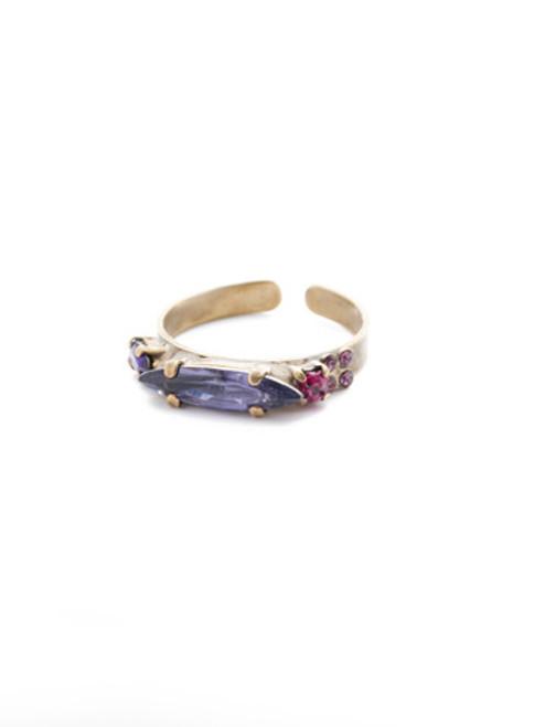 Sorrelli DUCHESS - Liberty Band Ring ~ RES181AGDCS