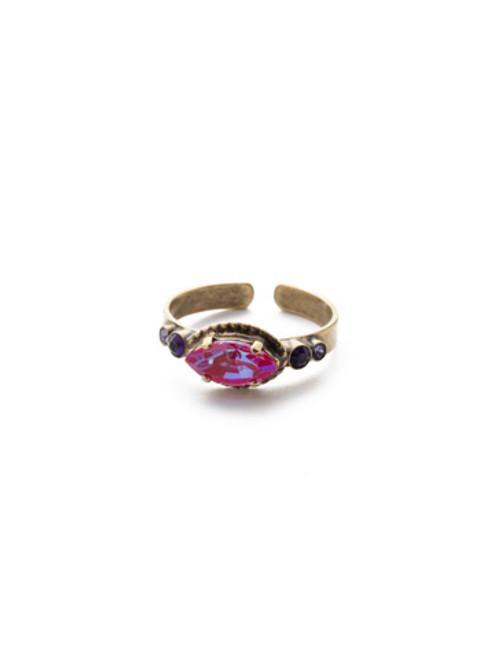 Sorrelli DUCHESS - Emilia Band Ring ~ RES15AGDCS