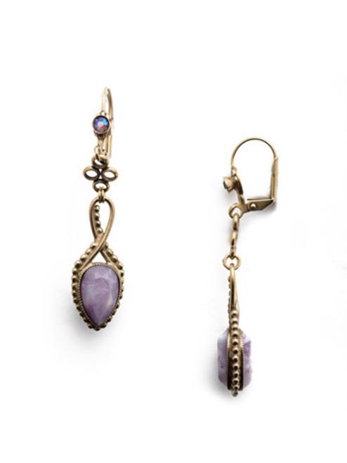Sorrelli DUCHESS - Chantel Dangle Earrings~ EEU3AGDCS