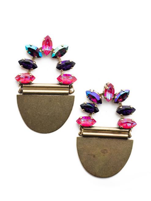 Sorrelli DUCHESS - Dorothy Statement Earrings~ EEU1AGDCS