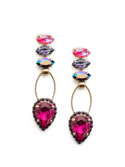 Sorrelli DUCHESS - Shirley Dangle Earrings~ EEU101AGDCS