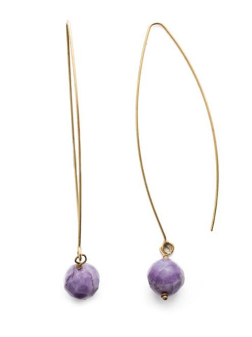 Sorrelli DUCHESS - Shiloh Dangle Earrings~ EEU20AGDCS