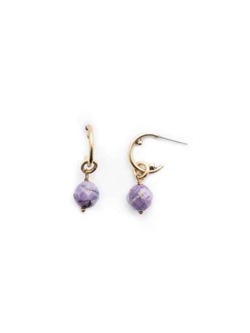 Sorrelli DUCHESS - Ashlyn Hoop Earrings~ EEU81AGDCS