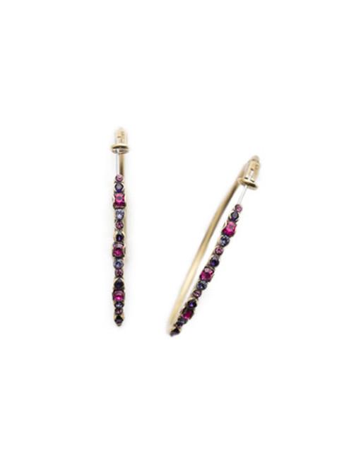 Sorrelli DUCHESS - Hoopla Hoop Earrings~ EDN79AGDCS