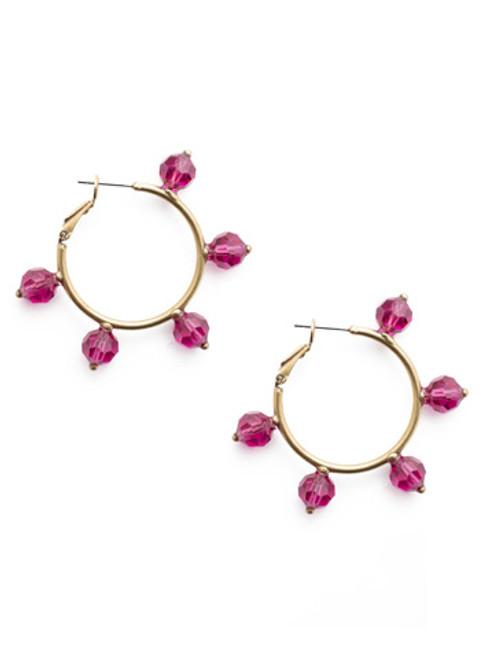 Sorrelli DUCHESS - Gretchen Hoop Earrings~ EEU82AGDCS