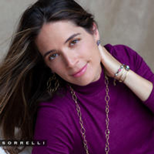 Sorrelli DUCHESS - Emmanuella Tennis Bracelet~ BES12AGDCS