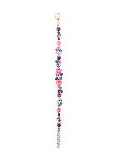 Sorrelli DUCHESS - Geo Classic Tennis Bracelet~ BDG46AGDCS
