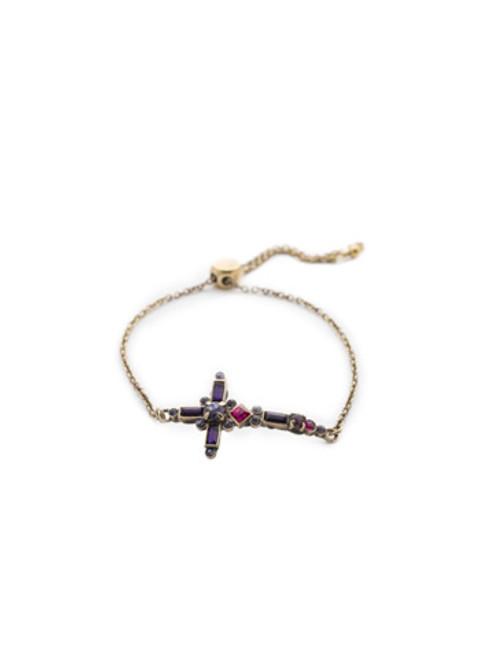 Sorrelli DUCHESS - Venezia Slider Bracelet~ BEC23AGDCS