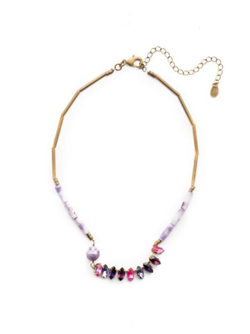 Sorrelli DUCHESS - Rita Tennis Necklace~ NEU8AGDCS