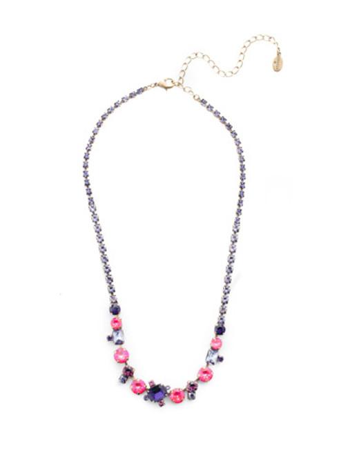 Sorrelli DUCHESS - Tinsley Tennis Necklace~ NEN17AGDCS