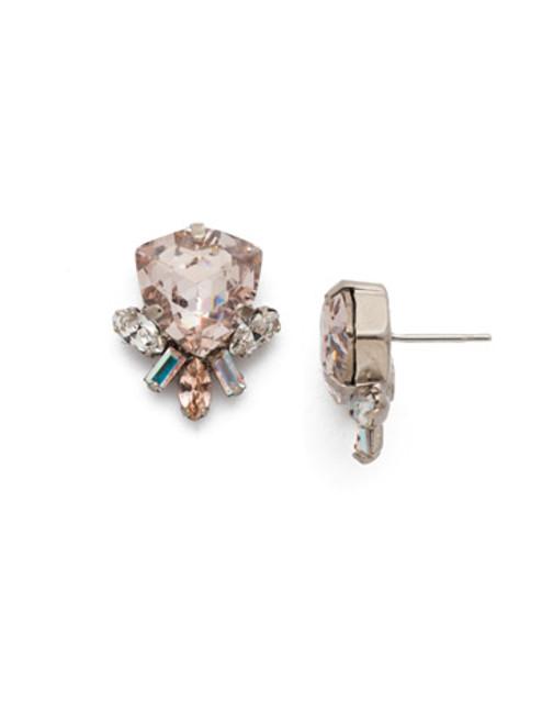 Sorrelli Silky Clouds Skylar Stud Crystal Earrings~EEE1ASSCL