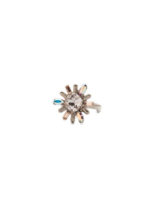 Sorrelli SILKY CLOUDS - Luna Crystal Ring ~ REE11ASSCL