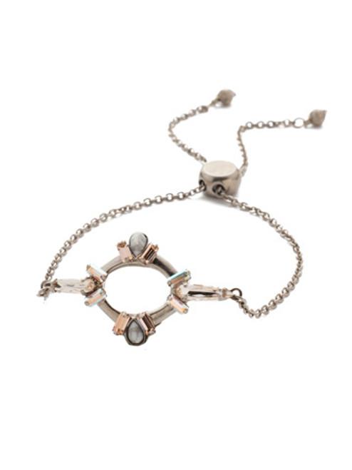 Sorrelli SILKY CLOUDS - Nevaeh Adjustable Slider Bracelet~ BEA23ASSCL
