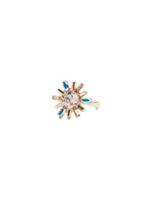Sorrelli SILKY CLOUDS - Luna Crystal Ring ~ REE11BGSCL