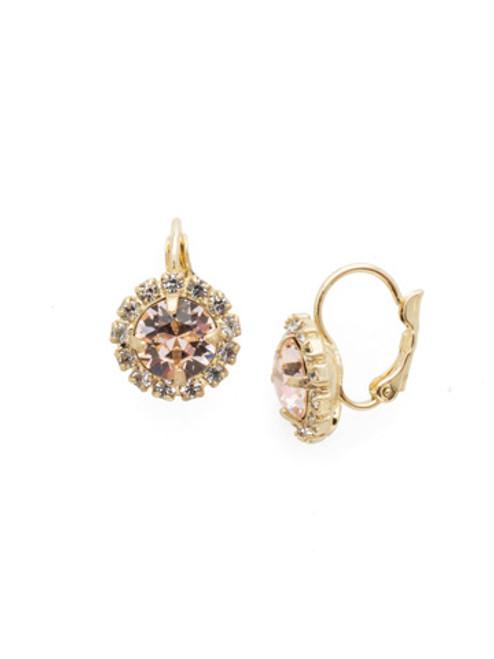 Sorrelli SILKY CLOUDS - Haute Halo Dangle Earrings~ EDL10BGSCL