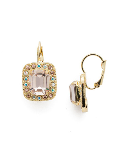 Sorrelli SILKY CLOUDS - Opulent Octagon Dangle Earrings~ EDQ50BGSCL