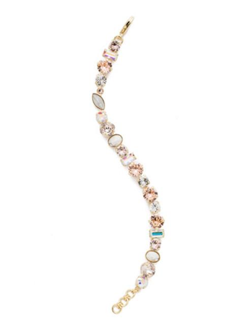 Sorrelli SILKY CLOUDS - Constantia Classic Bracelet~ BDR16BGSCL