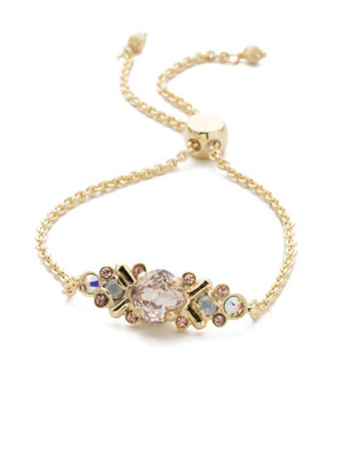 Sorrelli SILKY CLOUDS - Rosina Slider Bracelet~ BEA30BGSCL