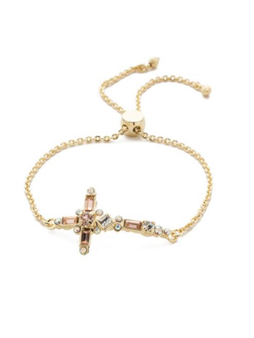 Sorrelli SILKY CLOUDS - Venezia Slider Bracelet~ BEC23BGSCL
