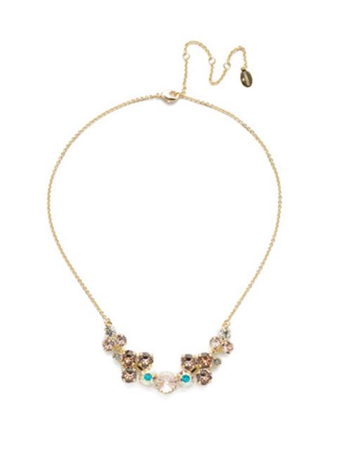 Sorrelli SILKY CLOUDS - Arabella Classic Necklace~ NEE10BGSCL