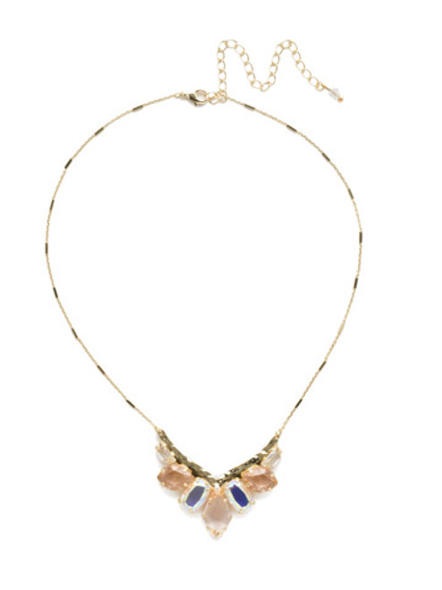 Sorrelli SILKY CLOUDS - To The Point Necklace~ NDK28BGSCL
