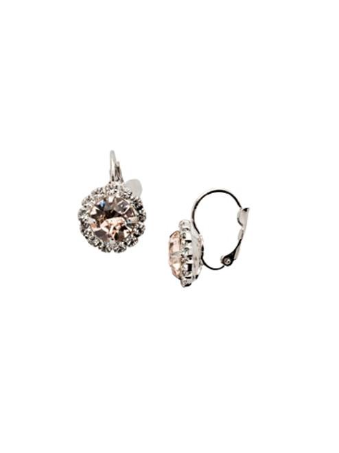 Sorrelli SILKY CLOUDS - Haute Halo Dangle Earrings~ EDL10RHSCL