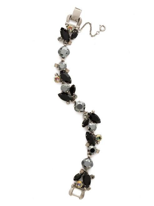 Sorrelli BLACK ONYX- Radiant Vine Tennis Bracelet~ BDN51ASBON
