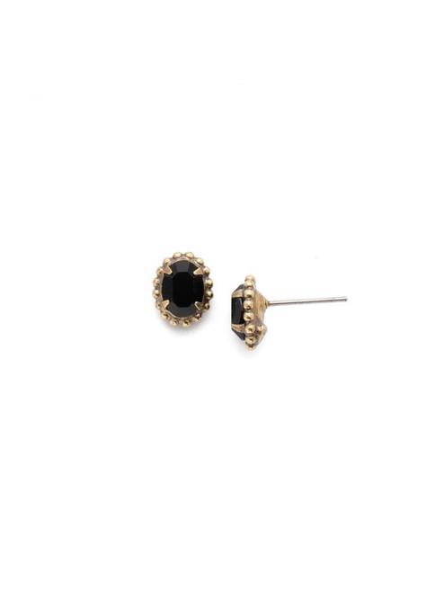 Sorrelli JET- Maisie Stud Earrings~ EEH11AGJET