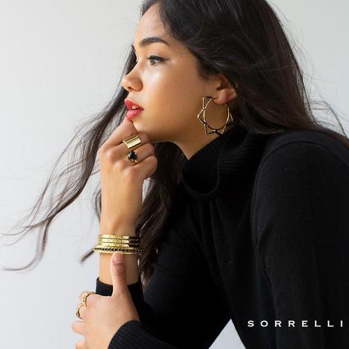 Sorrelli Jet - Perfectly Pretty Band Ring~ RDS10BGJET