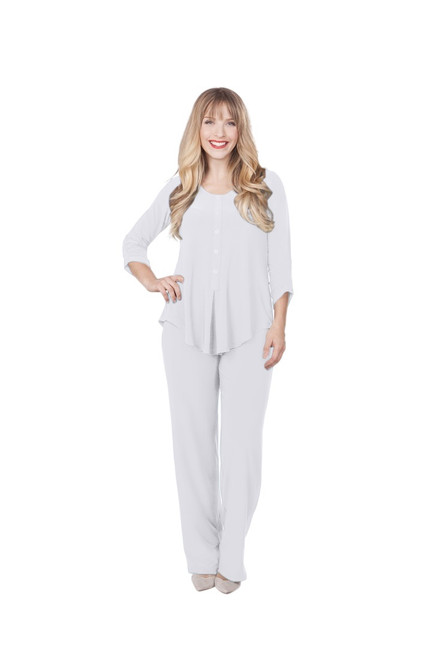 pure pant by sympli discontinued style 2744-IS white