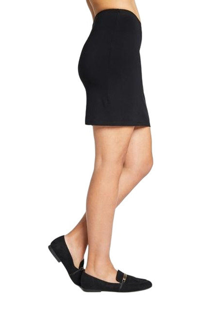 Mini Skirt by Sympli -2641-Black