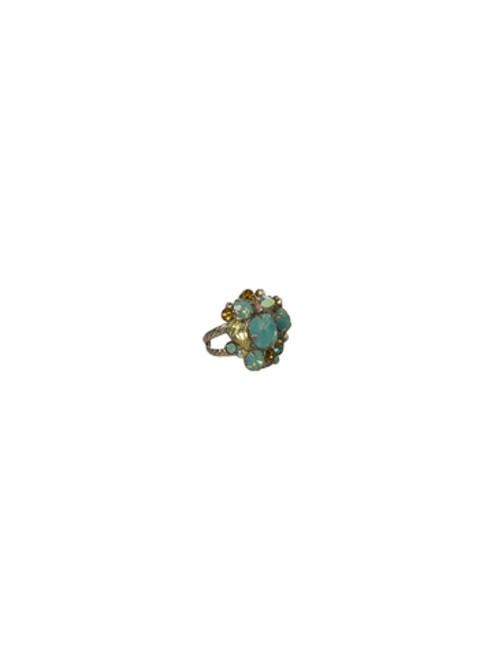 Sorrelli ATLANTIS- Bold Crystal Cluster Ring~ RCC1ASAT