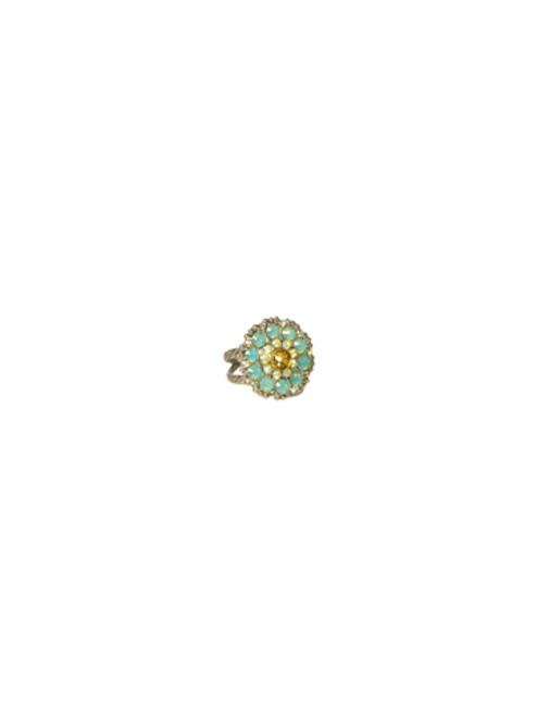 Sorrelli ATLANTIS-Charming Crystal Bloom Ring~ RBT78ASAT
