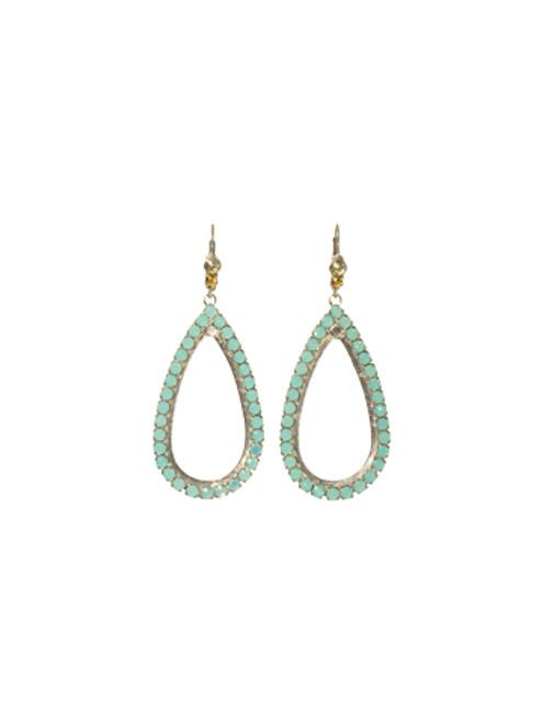 Sorrelli ATLANTIS- Teardrop Hoop Earrings~ ECM51ASAT