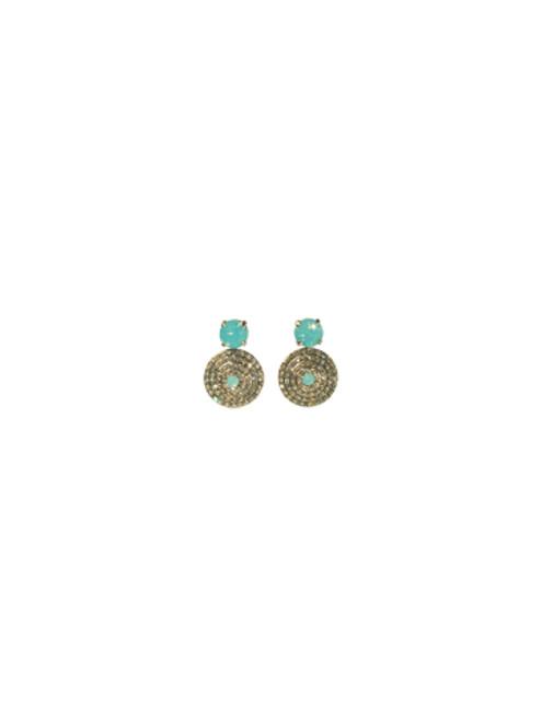 Sorrelli ATLANTIS- Pendant Post Earrings~ ECM16ASAT