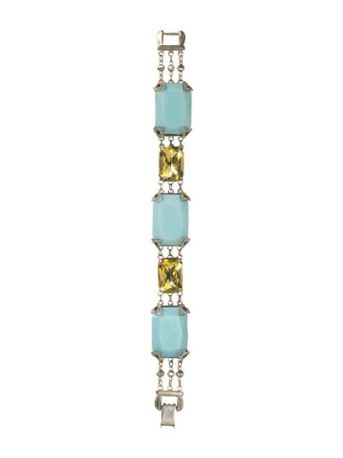 Sorrelli ATLANTIS- Emerald Elegance Bracelet~ BCM74ASAT