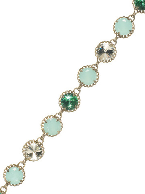 Sorrelli ATLANTIS-Embellished Crystal Tennis Bracelet~ BCN2ASAT
