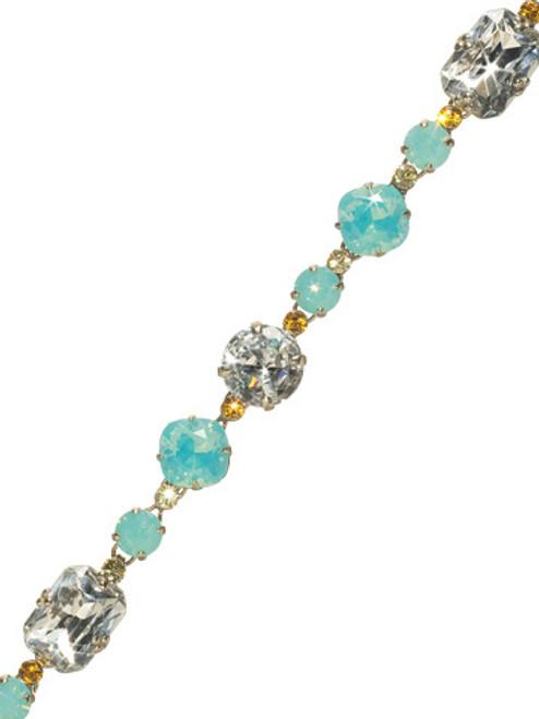 Sorrelli ATLANTIS- Treat Yourself Crystal Tennis Bracelet~ BCL12ASAT