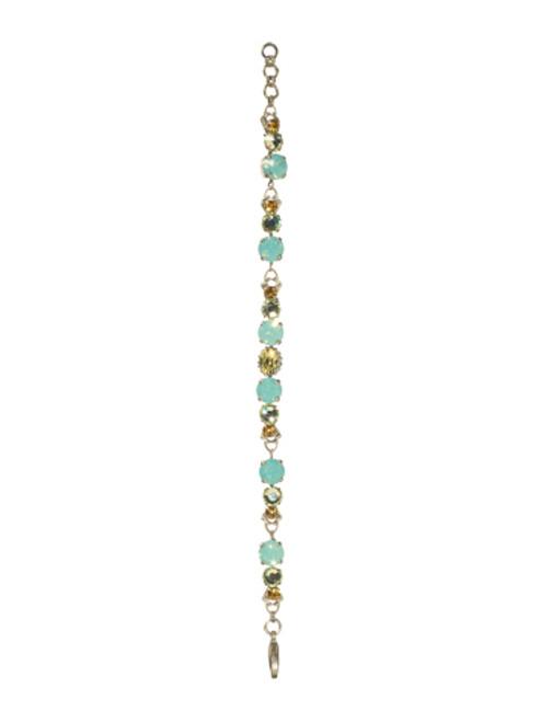 Sorrelli ATLANTIS- Linked Crystal Line Bracelet~ BCK11ASAT