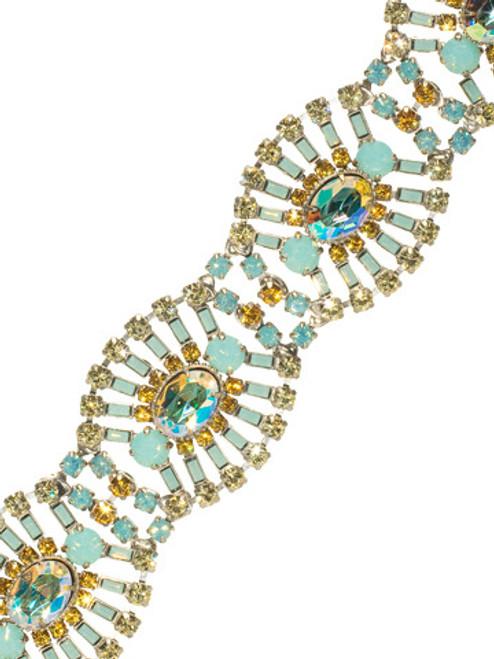 Sorrelli ATLANTIS- Gleaming Oval Layered Bracelet~ BBZ48ASAT
