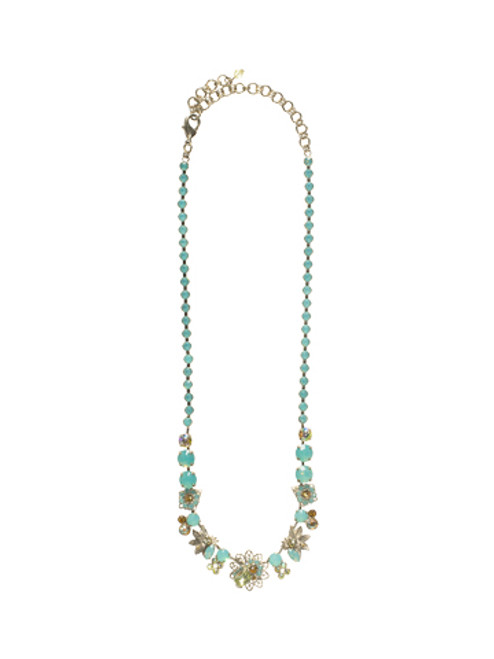 Sorrelli ATLANTIS- Oasis Classic Necklace~ NCP15ASAT