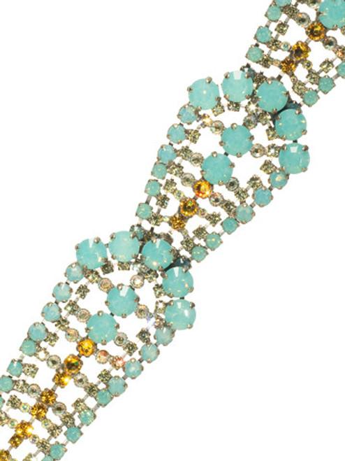 Sorrelli ATLANTIS- Large Crystal Triple Teardrop Bracelet~ BBZ14ASAT