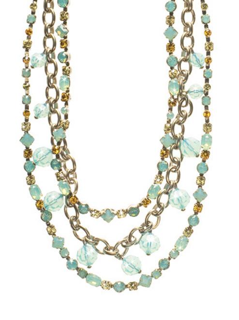 Sorrelli ATLANTIS- Triple The Sparkle Necklace~ NCP13ASAT