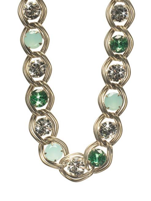 Sorrelli ATLANTIS- Opulent Ohs Crystal Necklace~ NCM14ASAT