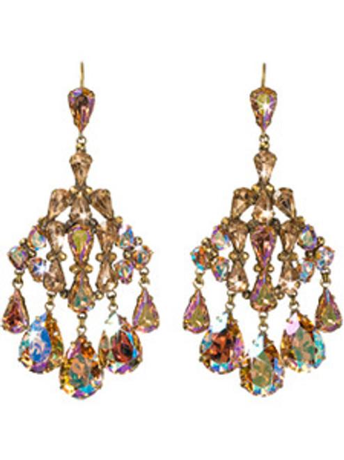 Sorrelli RAW SUGAR Crystal Earrings eck46agrsu