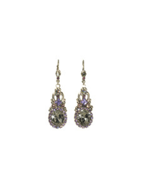 SORRELLI RHAPSODY STARDUST DROP EARRINGS - ECJ8ASRHP
