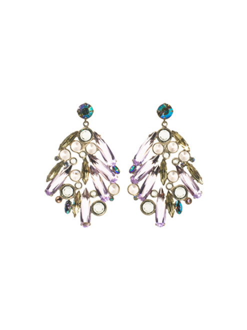 SORRELLI- RHAPSODY CRYSTAL EARRINGS-ECN27ASRHP