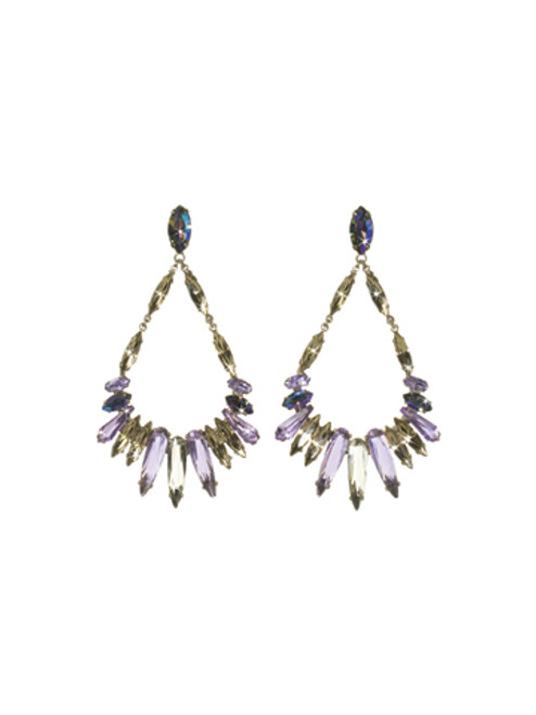 SORRELLI- RHAPSODY CRYSTAL EARRINGS-ECN38ASRHP
