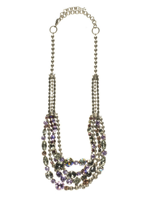 Full View SORRELLI -RHAPSODY  RED CARPET LAYERING NECKLACE-NCK50ASRHP